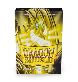 DS - Small Sleeves Dragon Shield Small Sleeves - Japanese Matte Yellow (60 Sleeves)