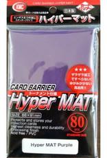 KMC - Standard Sleeves KMC Standard Sleeves - Hyper Mat Purple (80 Sleeves)
