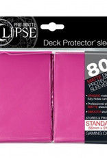 UP - Standard Sleeves UP - Standard Sleeves - PRO-Matte Eclipse - Pink (80 Sleeves)
