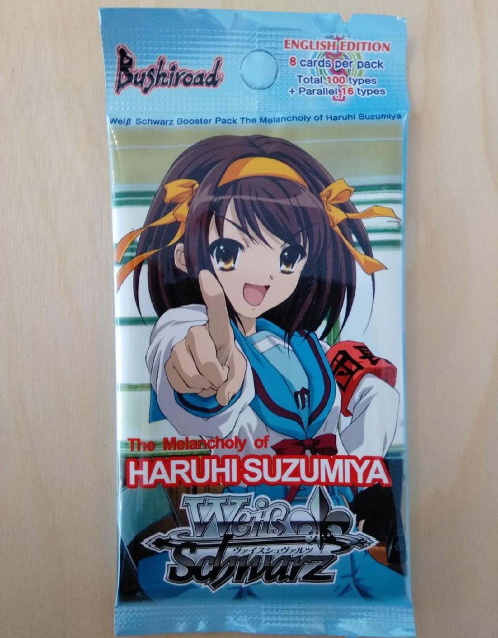 WS - Haruhi Suzumiya The Melancholy of Haruhi Suzumiya Booster EN