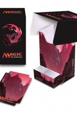 UP - Full-View Deck Box UP - Full-View Deck Box with Tray - Magic: The Gathering - Mana 5 Mountain