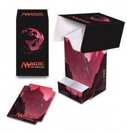 UP - Full-View Deck Box UP - Full-View Deck Box with Tray - Magic: The Gathering - Mana 5 Mountain