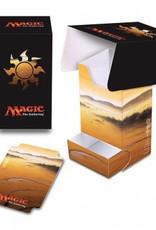 UP - Full-View Deck Box UP - Full-View Deck Box with Tray - Magic: The Gathering - Mana 5 Plains