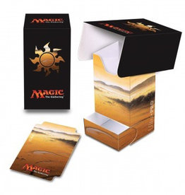 UP - Full-View Deck Box UP - Full-View Deck Box with Tray - Magic: The Gathering - Mana 5 Plains