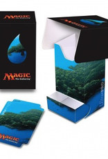 UP - Full-View Deck Box UP - Full-View Deck Box with Tray - Magic: The Gathering - Mana 5 Island