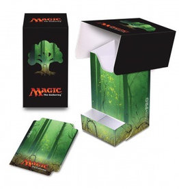 UP - Full-View Deck Box UP - Full-View Deck Box with Tray - Magic: The Gathering - Mana 5 Forest