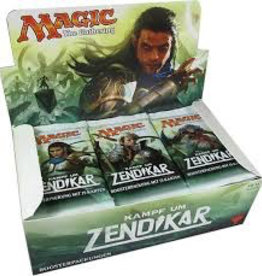 MTG - Battle for Zendikar Kampf um Zendikar Booster Display DE