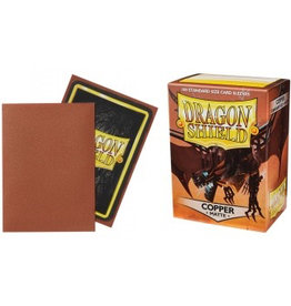 DS - Standard Sleeves Dragon Shield Standard Sleeves - Matte Copper (100 Sleeves)