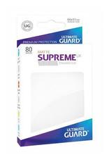 UG - Standard Sleeves Ultimate Guard Supreme UX Sleeves Standardgröße Matt Weiß (80)
