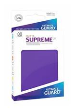 UG - Standard Sleeves Ultimate Guard Supreme UX Sleeves Standardgröße Matt Violett (80)
