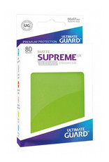 UG - Standard Sleeves Ultimate Guard Supreme UX Sleeves Standardgröße Matt Hellgrün (80)