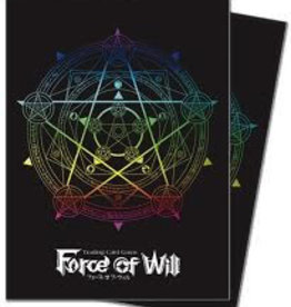 UP - Standard Sleeves UP - Deck Protector Sleeves - Force of Will - Magic Circle (65 Sleeves)