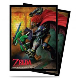 UP - Standard Sleeves UP - Sleeves Standard - The Legend of Zelda: Link vs Gannon Battle (65 Sleeves)