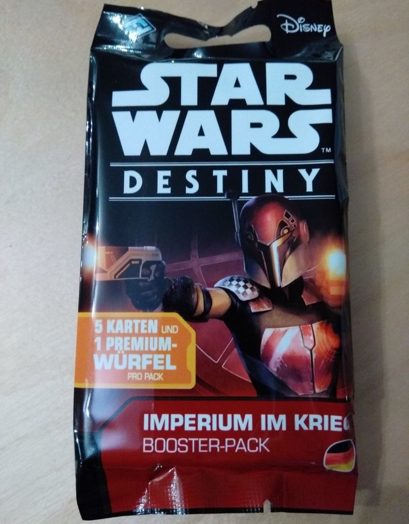 FFG - Star Wars Destiny FFG - Star Wars Destiny TCDG: Imperium im Krieg Booster - DE