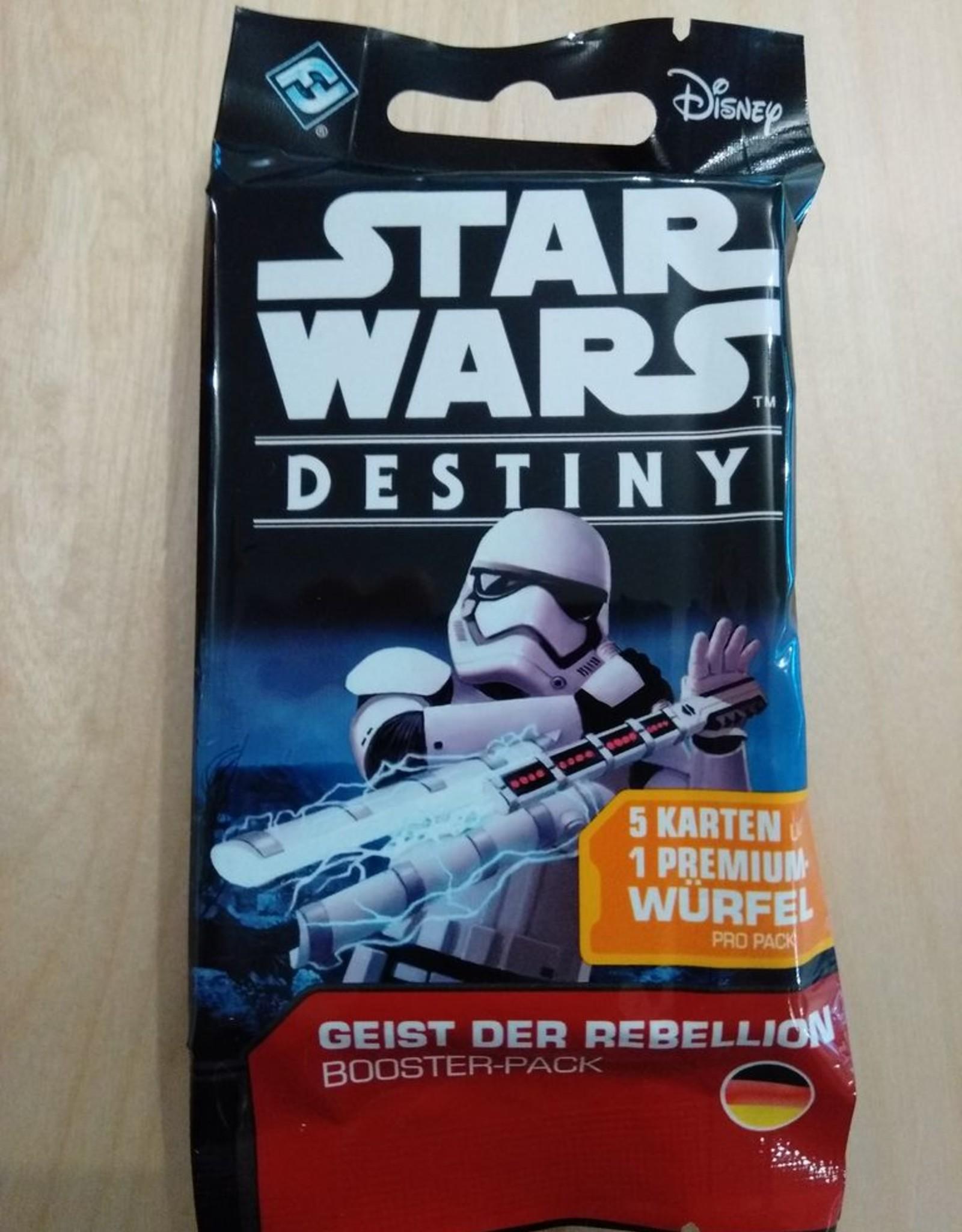 FFG - Star Wars Destiny FFG - Star Wars: Destiny TCDG - Geist der Rebellion Booster - DE