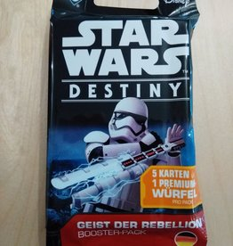 FFG - Star Wars Destiny FFG - Star Wars: Destiny TCDG - Geist der Rebellion Booster - DE