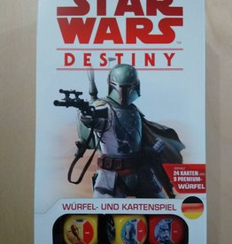 FFG - Star Wars Destiny FFG - Star Wars: Destiny - Boba Fett Starter-Set - DE