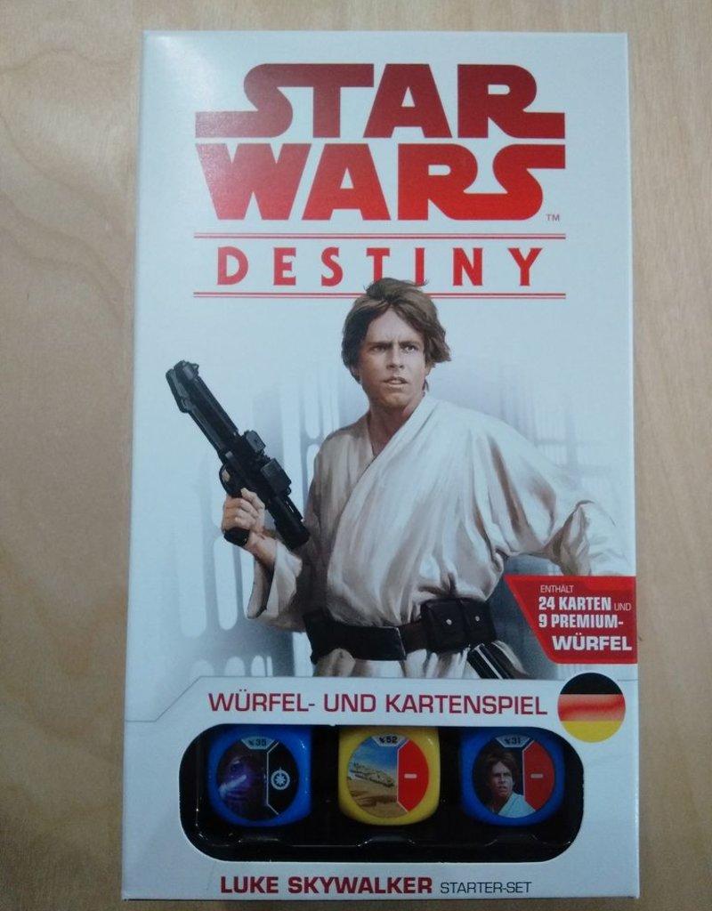 FFG - Star Wars Destiny FFG - Star Wars: Destiny - Luke Skywalker Starter-Set - DE