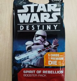 FFG - Star Wars Destiny FFG - Star Wars: Destiny TCDG - Spirit of Rebellion Booster - EN