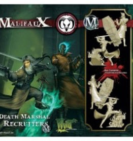 WYR - Malifaux Miniaturen Death Marshal Recruiter