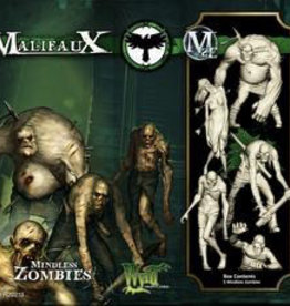 WYR - Malifaux Miniaturen Mindless Zombies (5)