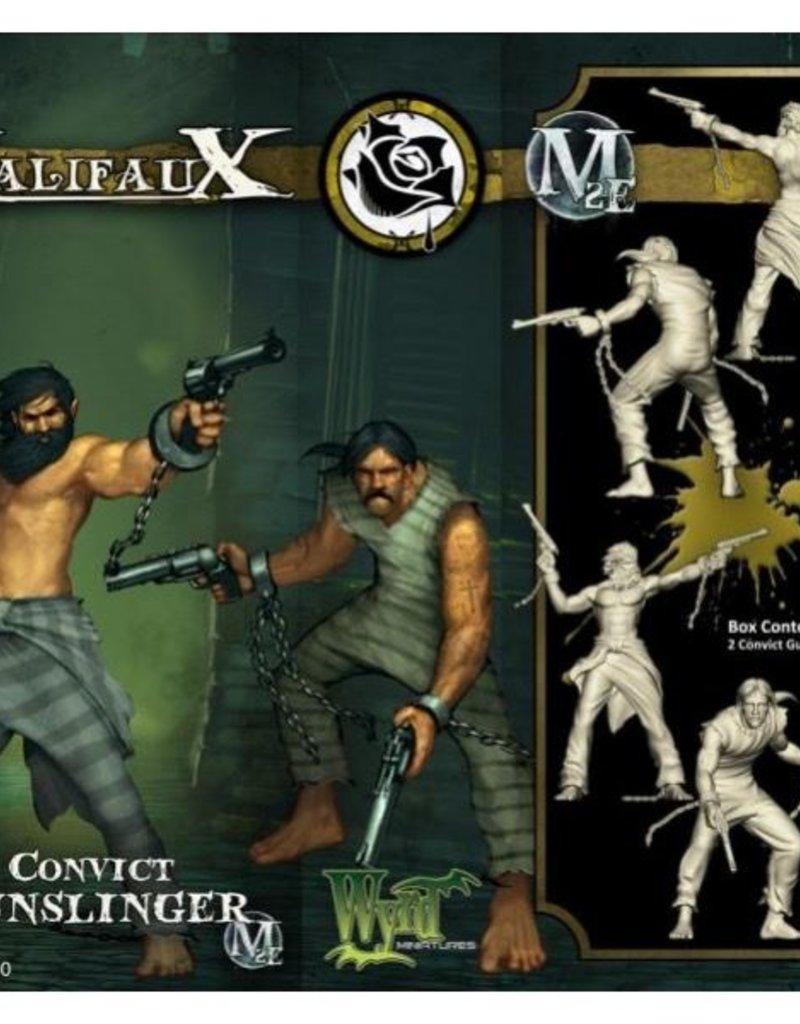 WYR - Malifaux Miniaturen Convict Gunslinger (2)