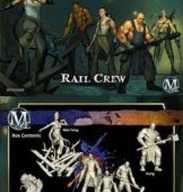 WYR - Malifaux Miniaturen Rail Crew- Mei Feng Crew
