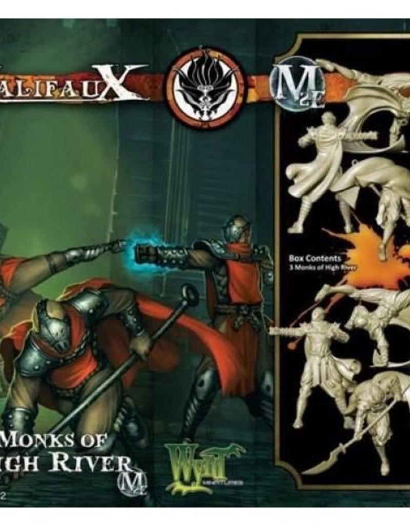 WYR - Malifaux Miniaturen Monks of High River (3)