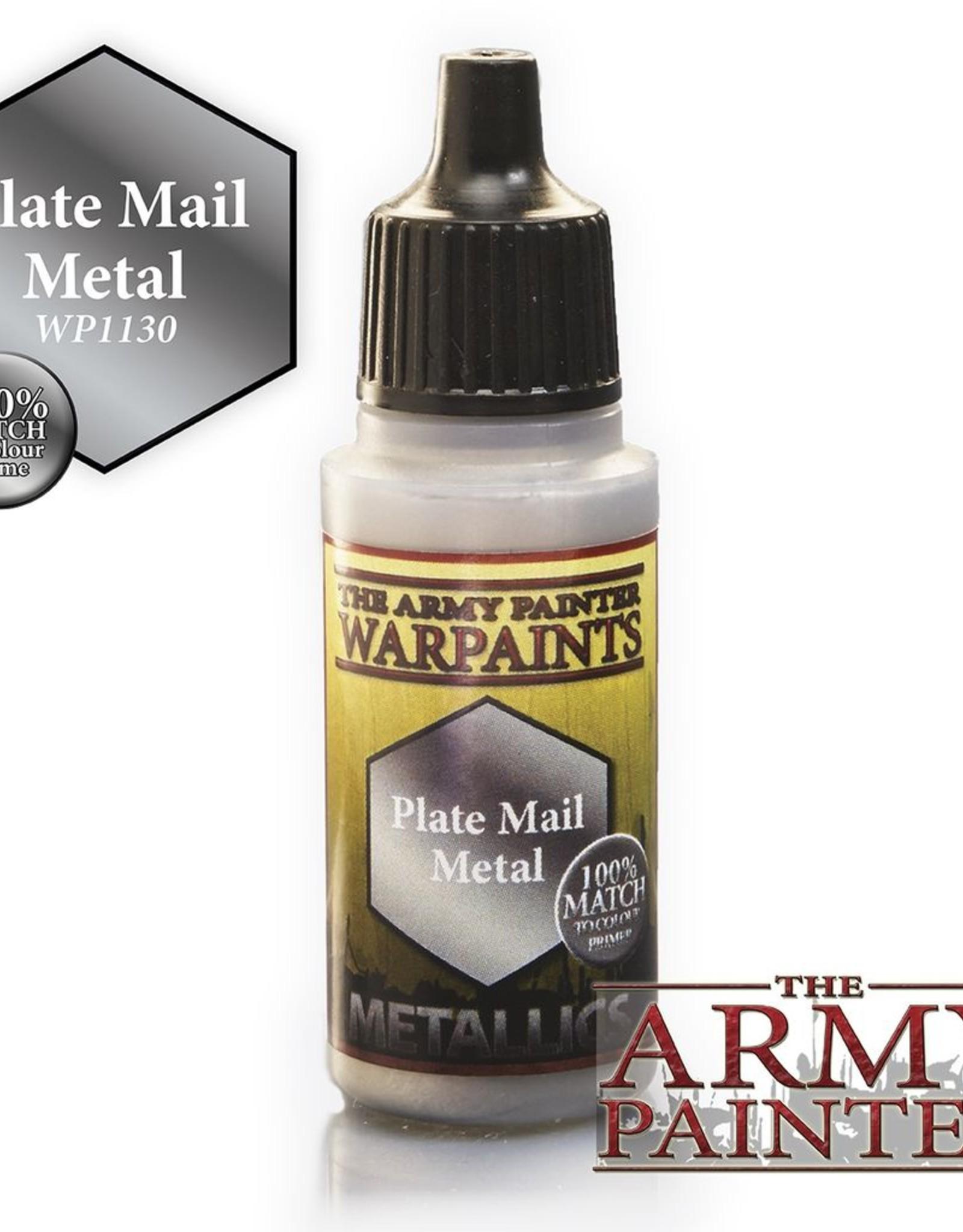 AP - Malen & Basteln Plate Mail Metal