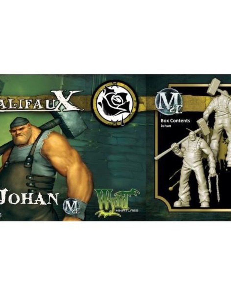 WYR - Malifaux Miniaturen Johan