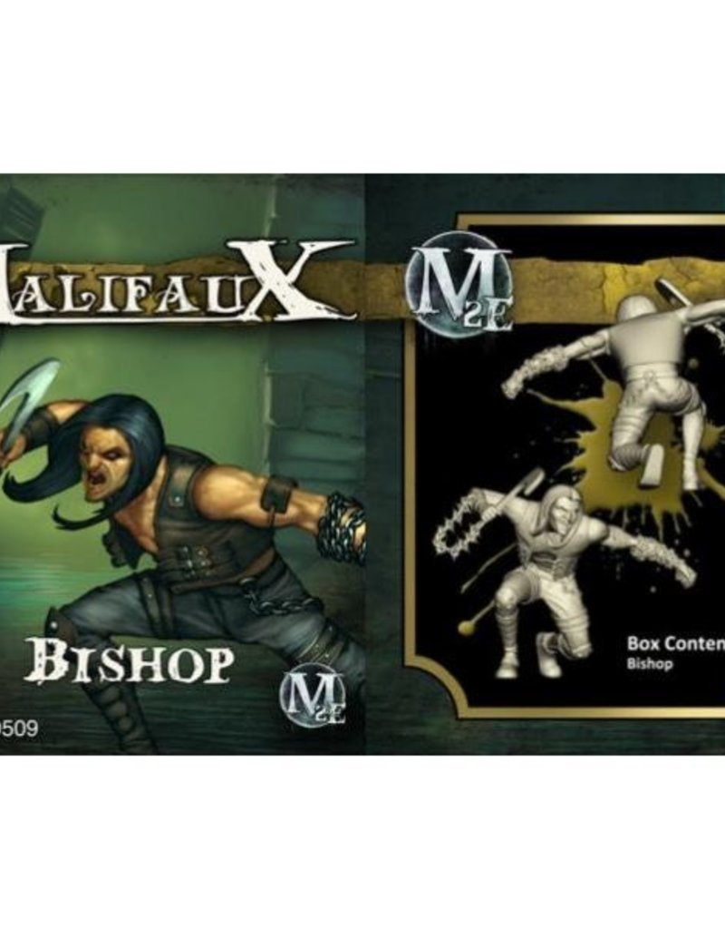 WYR - Malifaux Miniaturen Bishop