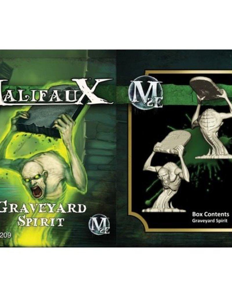 WYR - Malifaux Miniaturen Graveyard Spirit