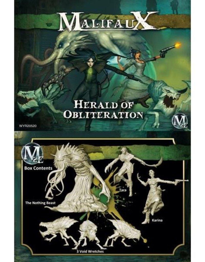 WYR - Malifaux Miniaturen Herald of Obliteration: Tara Crew