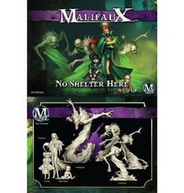 WYR - Malifaux Miniaturen Pandora Crew Box Set- No Shelter Here