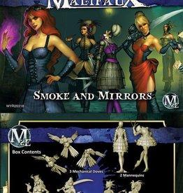 WYR - Malifaux Miniaturen Colette Crew - Smoke and Mirrors