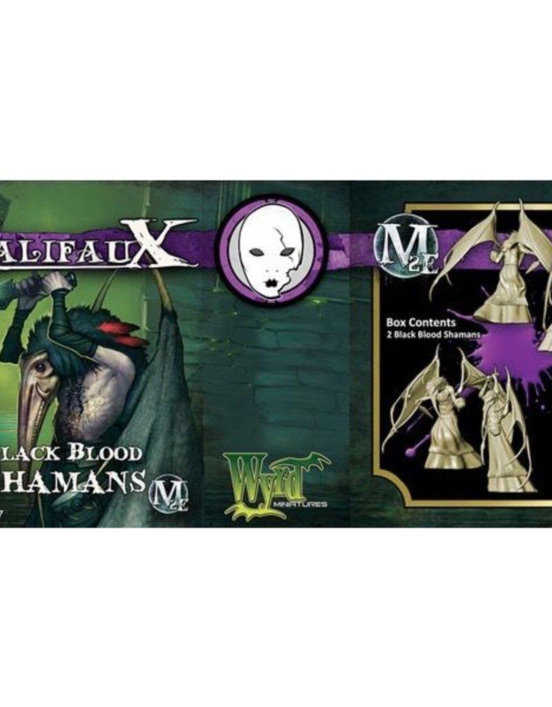 WYR - Malifaux Miniaturen Black Blood Shaman