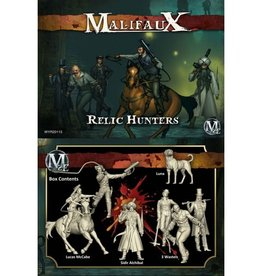 WYR - Malifaux Miniaturen Relic Hunters - Lucas McCabe Crew