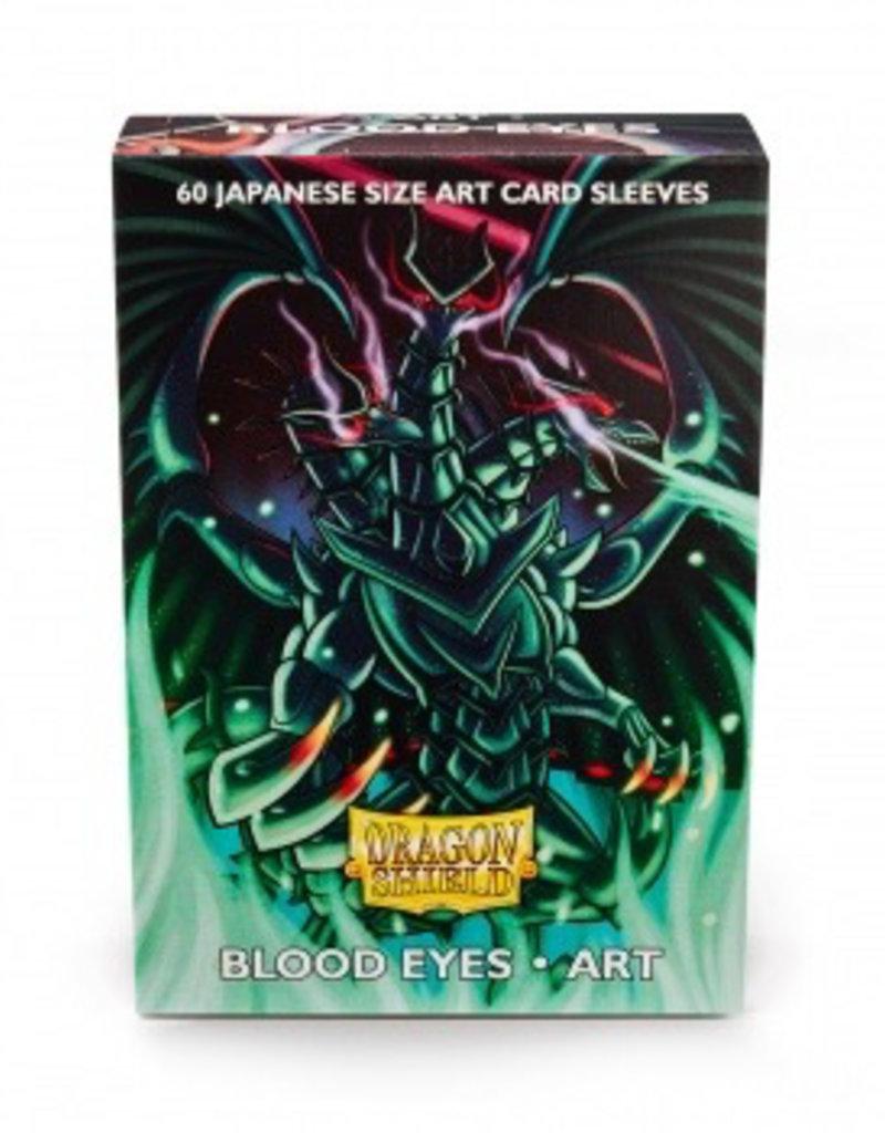 DS - Small Sleeves Dragon Shield Japanese Art Sleeves - Blood Eyes (60 Sleeves)