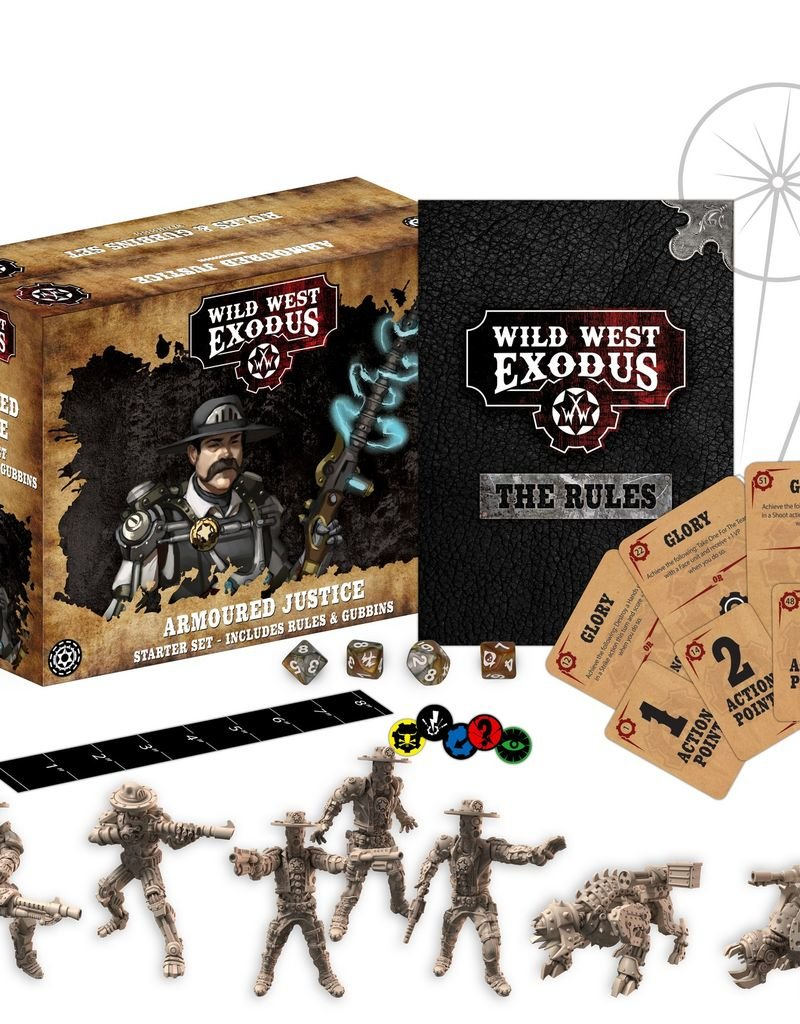 WEX - Wild West Exodus Miniaturen Armoured Justice Starter Set