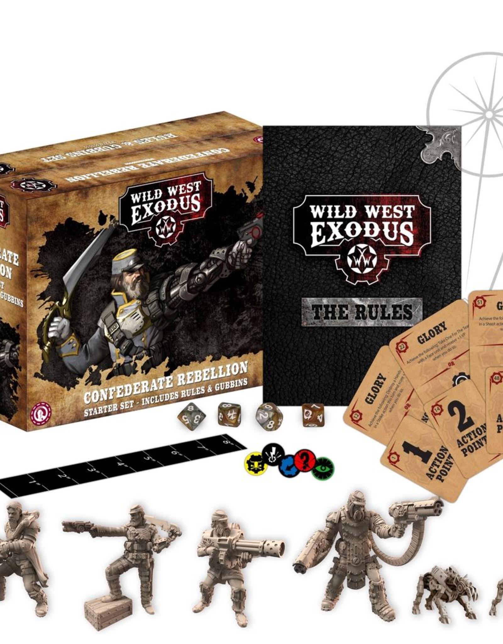 WEX - Wild West Exodus Miniaturen Confederate Rebellion Starter Set