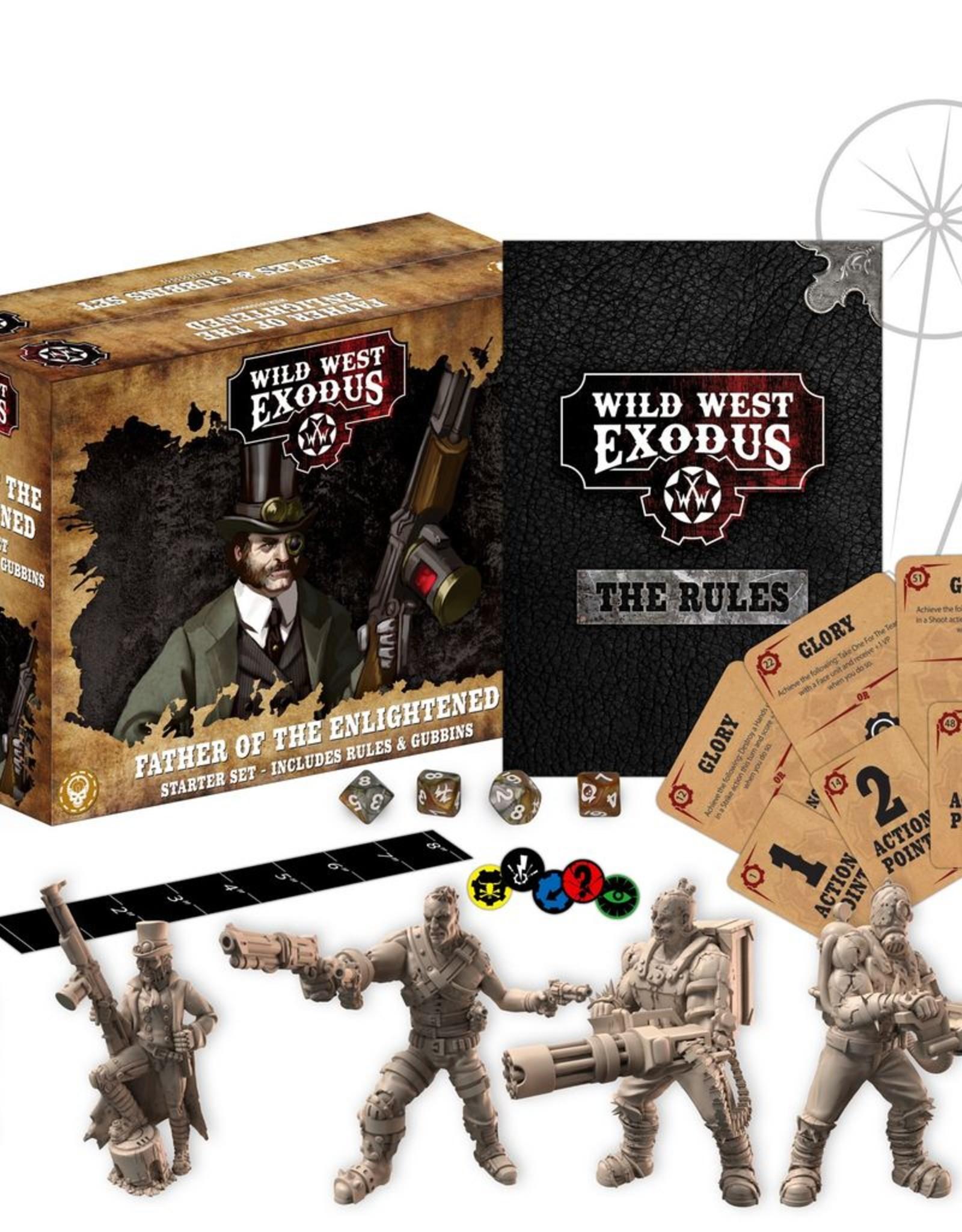 WEX - Wild West Exodus Miniaturen Father of the Enlightened Starter Set