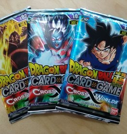 DBS - Dragon Ball Super Dragon Ball Super Card Game - Cross Worlds Booster - EN