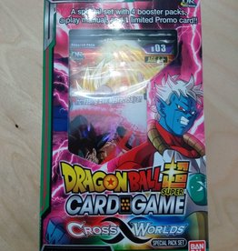 DBS - Dragon Ball Super Dragon Ball Super Card Game - Cross Worlds Special Pack Set - EN