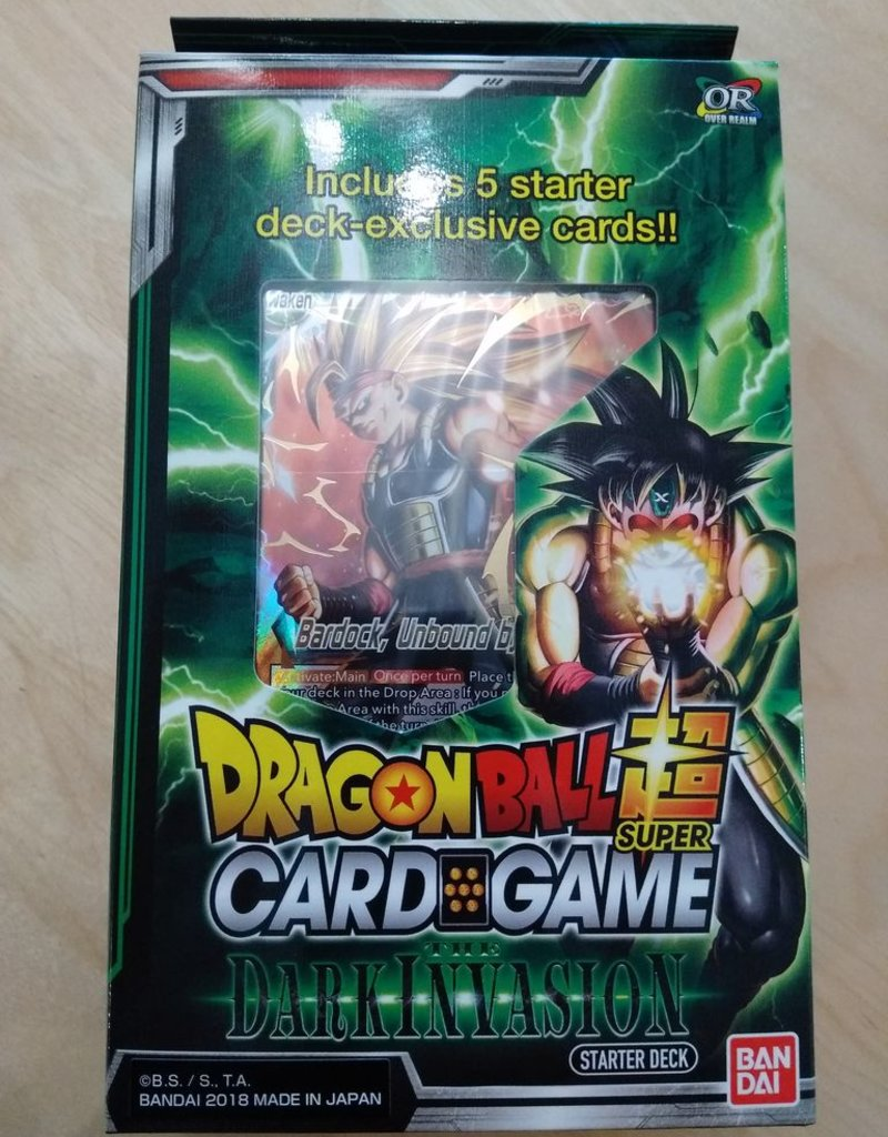 DBS - Dragon Ball Super Dragon Ball Super Card Game - The Dark Invasion Starter Deck - EN