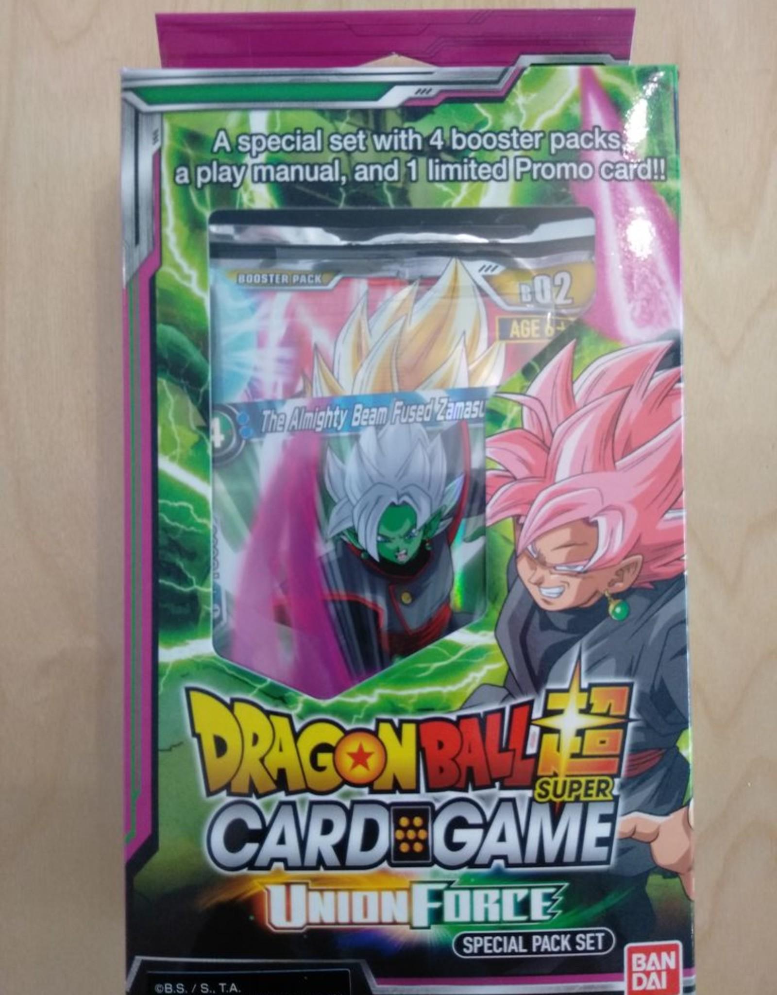DBS - Dragon Ball Super Dragon Ball Super Card Game - Union Force Special Pack Set - EN