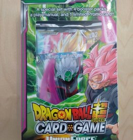 DBS - Dragon Ball Super Dragon Ball Super Card Game - Union Force Special Pack Set - EN