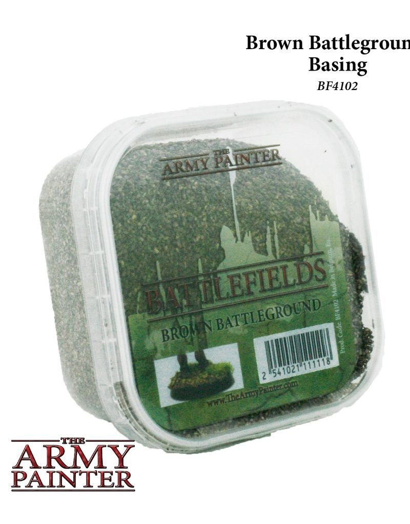 AP - Tabletopzubehör Brown Battleground - Basing