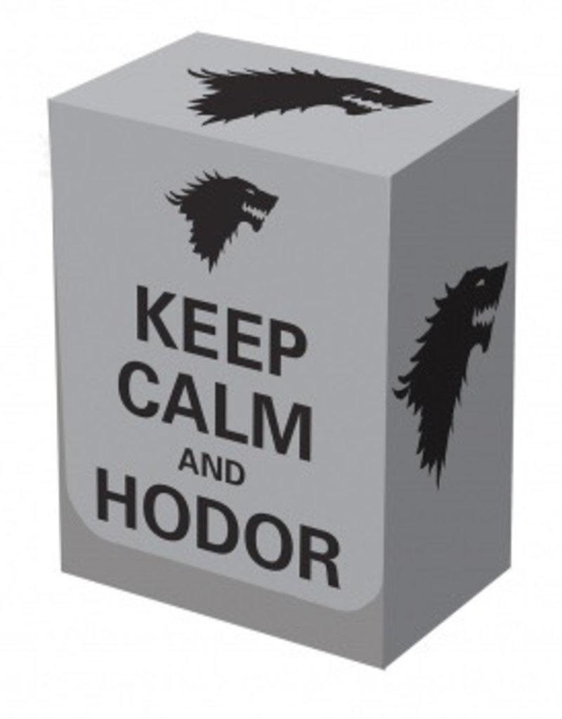 Legion - Deckbox Legion - Deckbox - Keep Calm & Hodor
