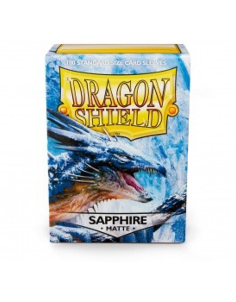 DS - Standard Sleeves Dragon Shield Matte Sleeves - Sapphire (100 Sleeves)