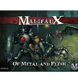 WYR - Malifaux Miniaturen C. Hoffman Crew  (Of Metal and Flesh)